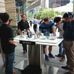 [Sony Singapore] If you missed our roadshow at Chevron House today, we'll still be here tomorrow from 9am-8pm!