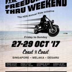 [Harley-Davidson] Our annual dealership ride Freedom Thru Weekend 2017 info is up.