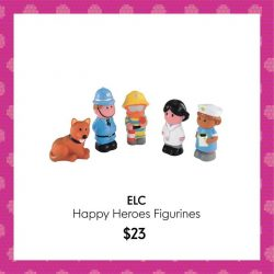 [Mothercare] Let your children's imagination run free with ELC Happyland toys, which is designed to help your child explore and