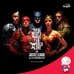 [Singtel] Want to bring your favourite superheroes home?