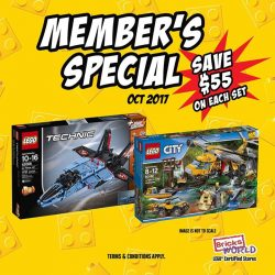 [Bricks World (LEGO Exclusive)] OCTOBER MEMBER'S SPECIAL!