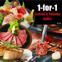 [Tenkaichi] 1 FOR 1 Premium and Deluxe Buffet!