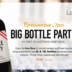 [LeVeL33] The Melchoir 18L Big Bottle Party at LeVeL33 this November!