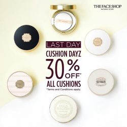 [THE FACE SHOP Singapore] We're all about the cushions!