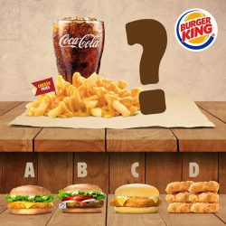 [Burger King Singapore] We're not one to pick favourites, but you sure can!