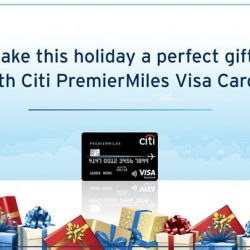 [Citibank ATM] Your holiday may cost less than you think with your Citi PremierMiles Visa Card.
