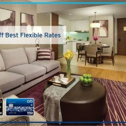 [Citibank ATM] Whether you are travelling for leisure or business, book your next stay with Ascott serviced residences.