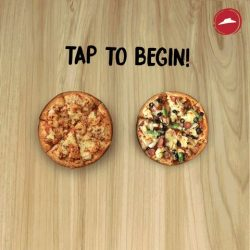 [Pizza Hut Singapore] Tap 😁 if you manage to spot the smiley!