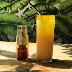 [Clarins] Get your daily dose of Turmeric with our NEW Double Serum to keep your skin looking radiant and youthful!
