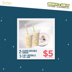 [Mr Bean Singapore] Bean It to Win It now with Mr Bean's mouth-watering combo deals from $5 onwards!