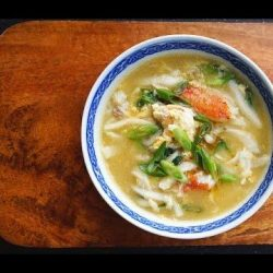 [THE SEAFOOD MARKET PLACE BY SONG FISH] Crab & Ginger Soup With Rice CakesThe one soup for a cold day.
