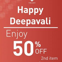 [Helen Accessories] Wishing all a Happy Deepavali glowing with peace, joy and prosperity!