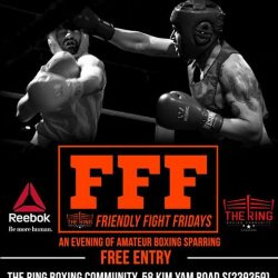 [Reebok Singapore] The Ring Friendly Fight Fridays is open to everyone who wants to improve their game and have a good time.