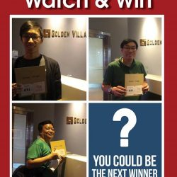[Golden Village] 2 more weeks to unleash the movie junkie in you if you want to up your chances of winning a $