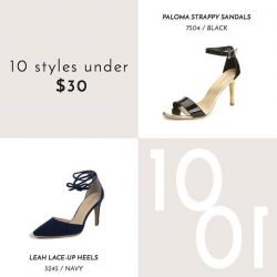[Heatwave] A touch of sultriness meets elegance with these barely-there ankle straps on our favourite stilettos.