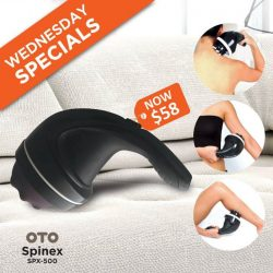 [OTO Bodycare] WEDNESDAY SPECIALS - OTO Spinex at Only $58.