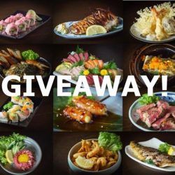 [Kushi Dining Bar] GIVEAWAY.