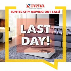 [Novena] It's the LAST DAY of Moving Out Sale at Suntec City!