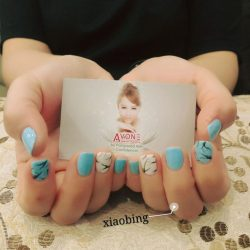 [AVONE BEAUTY SECRETS] GO GLAM with these glorious nailarts presented skilfully by our Waterway Punggol team (T.