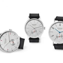 [The Hour Glass] Presenting the Nomos Glashütte 'At Work' series, a collection of four watch models with perfect proportions and in three