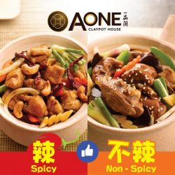 [A-One Claypot House] Vote for your free dish!