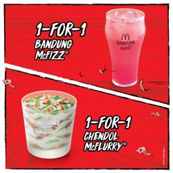 [McDonald's Singapore] Share these triumphant 1-for-1 deals with your fellow warriors today!