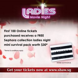[Shaw Theatres] Looking for a little aw's and a lot of haha's to unwind for the weekend?