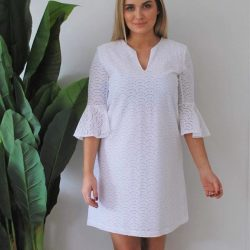 [Mico Boutique] Get Races Ready with the divine SOPHIA Dress ♡ A beautiful white number that won't date, team it with some