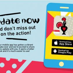 [Nando's] Stay app-dated with the all new Nando's Singapore app!