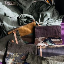 [STRAITS ESTABLISHMENT] VintageSurplus •Small canvas pouches repurposed out of old military canvas & fatigues.