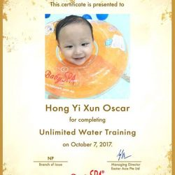 [BabySpa] Congratulations to all our new Water Training graduates!