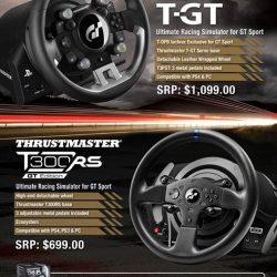 [GameMartz] It is a good time to grab the Thrustmaster steering wheel for your racing game like Gran Turismo Sport / Project
