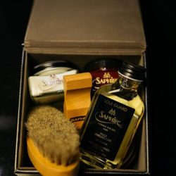 [STRAITS ESTABLISHMENT] One of our best seller - the beginner shoe shine kit, shop Saphir from the comfort of your own home via