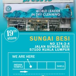 [Pressto Dry Cleaning] We're very pleased to announce that our 19th branch is opened!