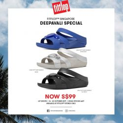 [FitFlop] Festive deals this Deepavali ✨Embellished to the max, our Luna Pop™ Slides are now at S$99 for a limited