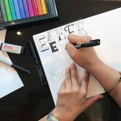 [Graf von Faber Castell] Registration for our Hand Lettering Techniques workshop with Mye De Leon is now open!