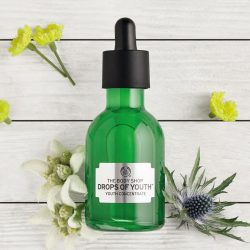 [The Body Shop Singapore] Say yes to younger-looking skin with Drops of Youth™ vegan skincare.