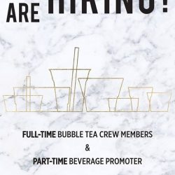 [Sharetea Singapore (歇脚亭)] We are hiring !