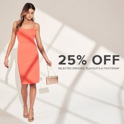[Forever New] 25% Off Selected Dresses, Playsuits & Footwear*Shop Now: https://www.