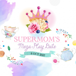 [Waterway Point] Join in the fun at our SuperMom's Mega PlayDate today!