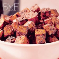 [Marie France Bodyline] Improve your skin with this simple Balsamic Tofu recipe.