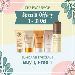 [THE FACE SHOP Singapore] Here are more special offers for the month of October just for you!