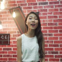 [StarHub] 17-year-old Singapore talent, Beatrice 彭炜茵 - Team Della is ever ready to show us her singing prowess.