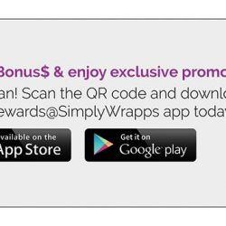 [Simply Wrapps] Hurry, the Amazing Voucher promo ends 31 Oct!