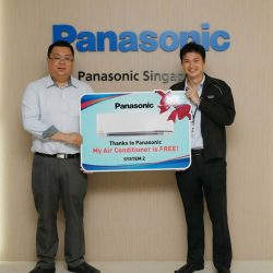 [Panasonic] Cool down in the most exciting way possible as we're giving you a chance to own a Panasonic nanoe-