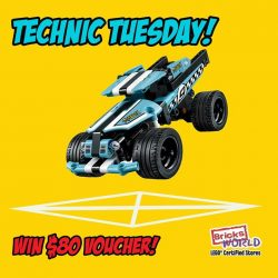 [Bricks World (LEGO Exclusive)] Technic Tuesday – Can you secure a perfect landing?