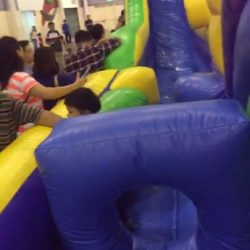 [MindChamps Medical] Live - Challenging The Largest Inflatable Obstacle Course Now!
