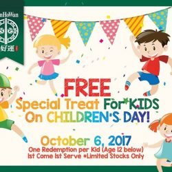[Tim Ho Wan] Celebrate Children's Day at Tim Ho Wan!