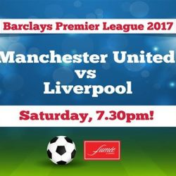 [fumee.deli.bar+cigar] Catch the intensive game of Man U & Liverpool live here in Fumée!