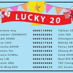 [Golden Village] The day just got better for our 20 lucky GV Movie Club® members!